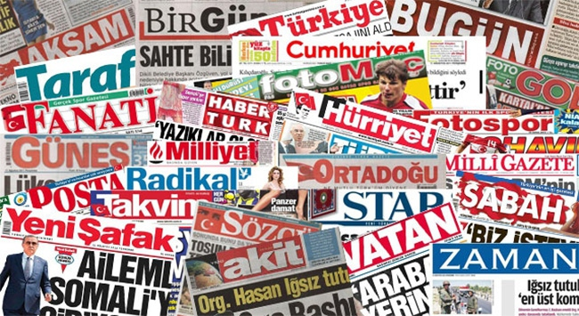 Gazete Manşetleri  30 Nisan 2016