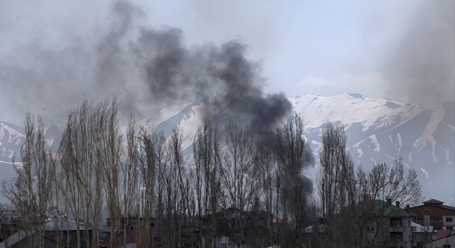 Terör örgütüne Yüksekova'da büyük darbe