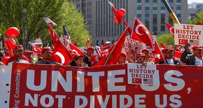 ABD'de Türkiyeye destek yürüyüşü yapılacak