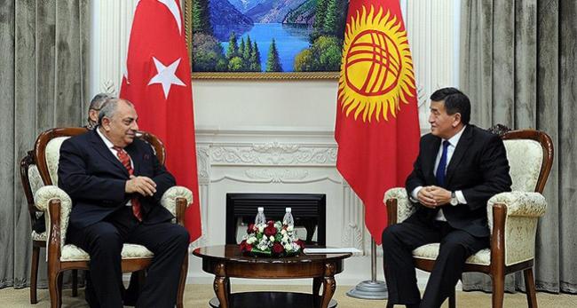 Başbakan Yardımcısı Türkeş ile Ceenbekov görüştü