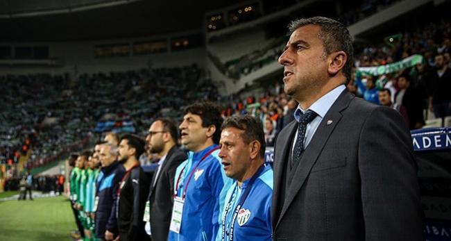 Hamza Hamzaoğlu'ndan Bursaspor taraftarına tepki
