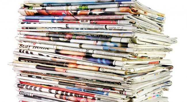 Gazete manşetleri  5 Mayıs 2016
