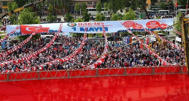 HAKİŞ 1 Mayıs'ı Sakarya'da kutluyor