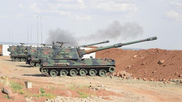 Suriye'deki DAİŞ hedefleri vuruldu