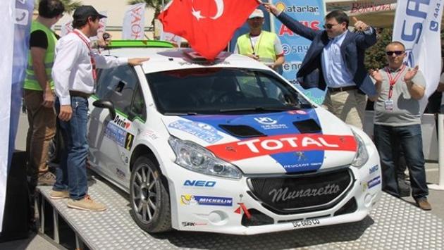 Marmaris Rallisi öncesi klasik otomobil yarışı