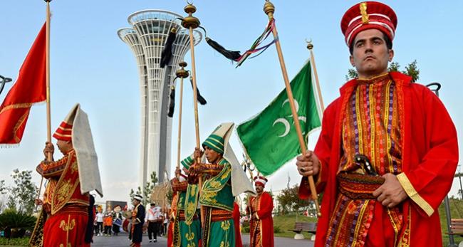 Ramazana dostluk yürüyüşü ile karşılama