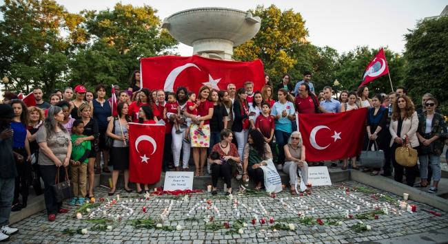 Terör saldırısında hayatını kaybedenleri törenlerle andılar