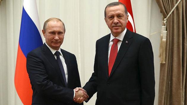 Cumhurbaşkanı Erdoğan ve Putin Rusya'da görüşecek