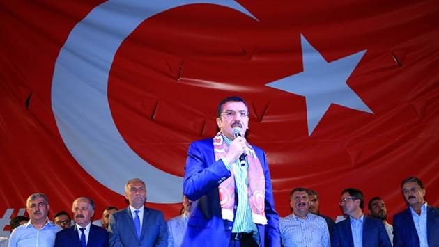 'Sizlerin bu duruşuyla Türkiye ayakta durdu'