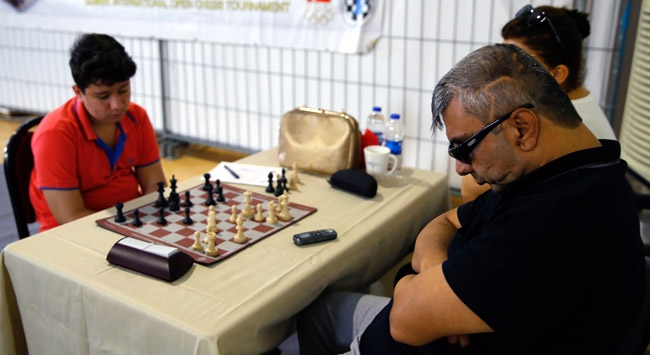 Gaziyi satranç tutkusu yaşama bağladı
