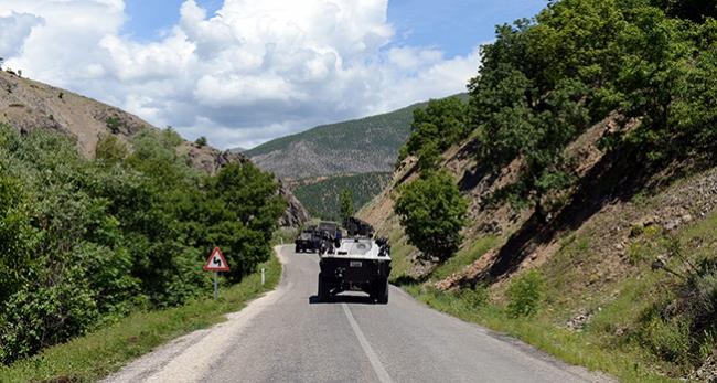 Tendürek Dağı'nda 3 terörist etkisiz hale getirildi
