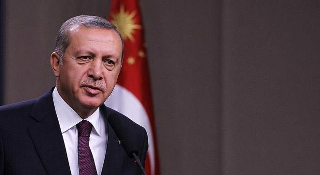Erdoğan'dan altın madalya kazanan tekvandoculara tebrik telgrafı
