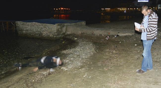 Balıkesir'de denize düşen kişi boğuldu