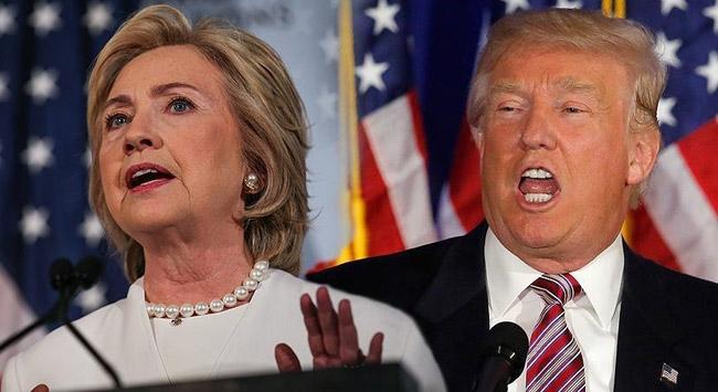 Clinton ile Trump arasındaki en 'sert' başkanlık tartışması