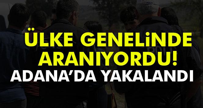 Türkiye'de aranan araç Adana'da yakalandı