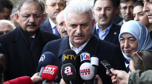 Başbakan Yıldırım'dan düşen uçak iddiasına ilişkin açıklama