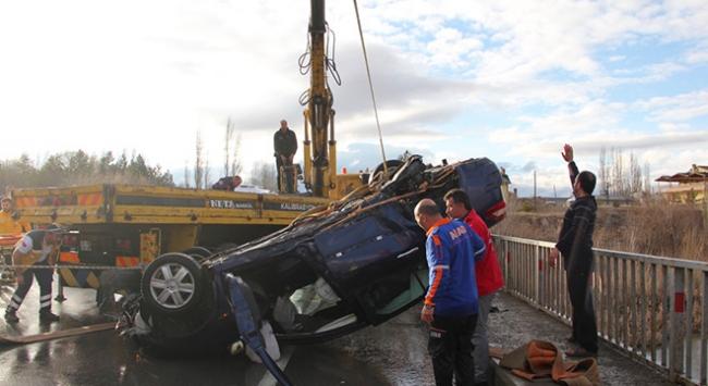 Sivas'ta trafik kazası 2 can aldı