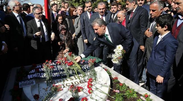 Muhsin Yazıcıoğlu vefatının 8. yılında anıldı