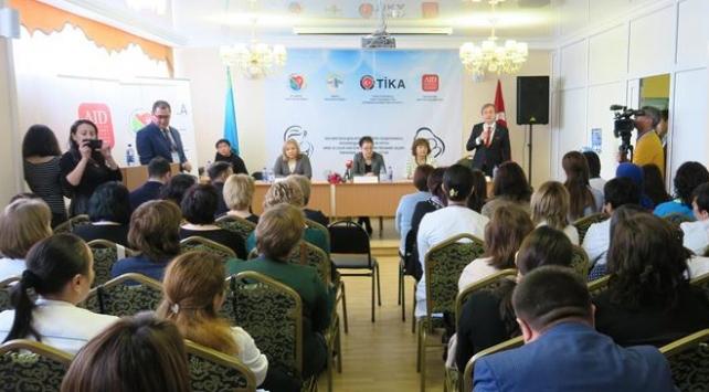 TİKAdan Kazakistana sağlık eğitimi desteği