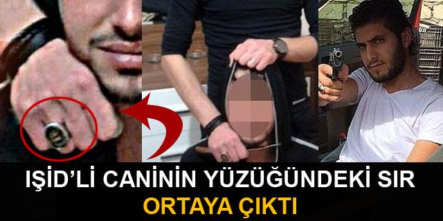 IŞİD'li caninin yüzüğündeki sır ortaya çıktı