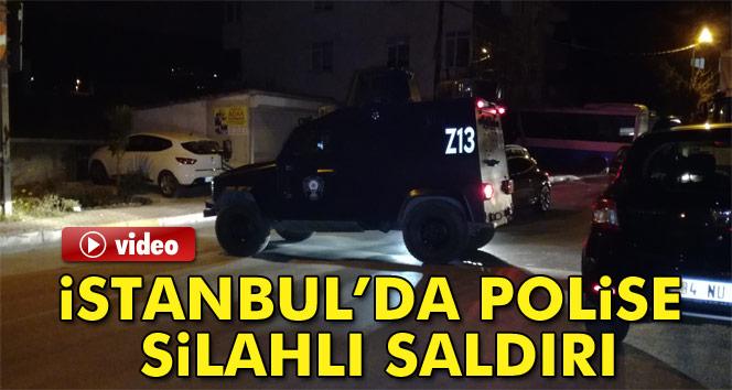 İstanbul Maltepe'de polise silahlı saldırı