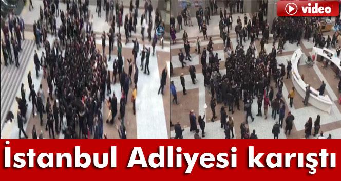İstanbul Adalet Sarayı karıştı