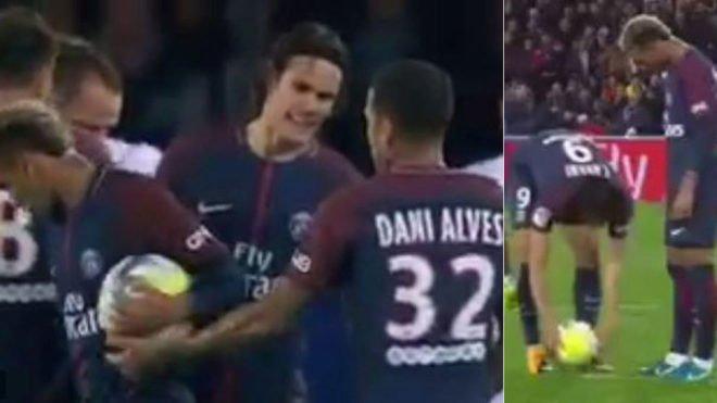 PSG'de  Neymar – Cavani ikinci defa karşı karşıya geldi