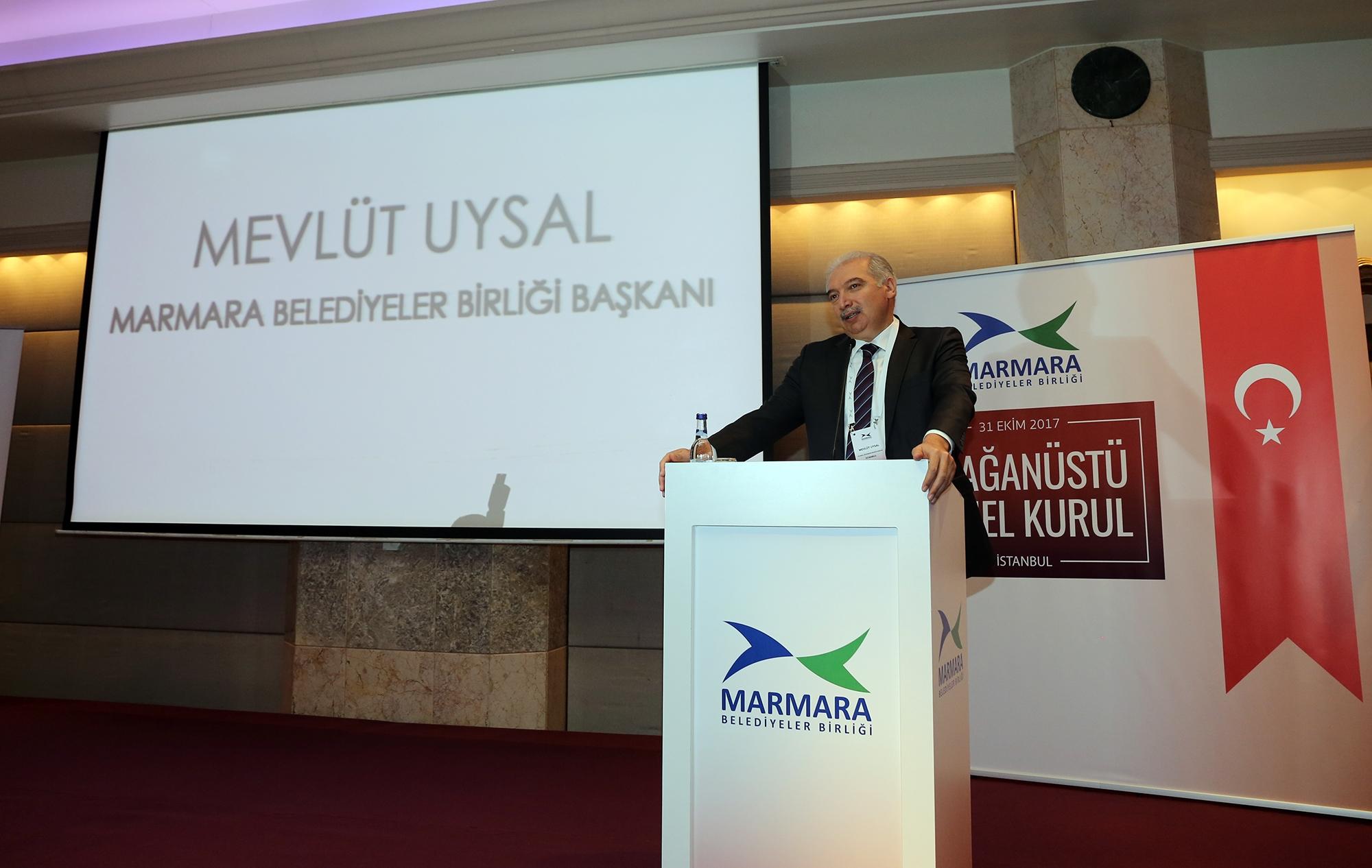 Marmara Belediyeler Birliği'nin Yeni Başkanı Mevlüt Uysal