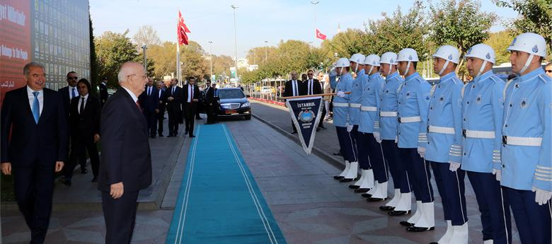 TBMM Başkanı Kahraman'dan Başkan Uysal'a Ziyaret