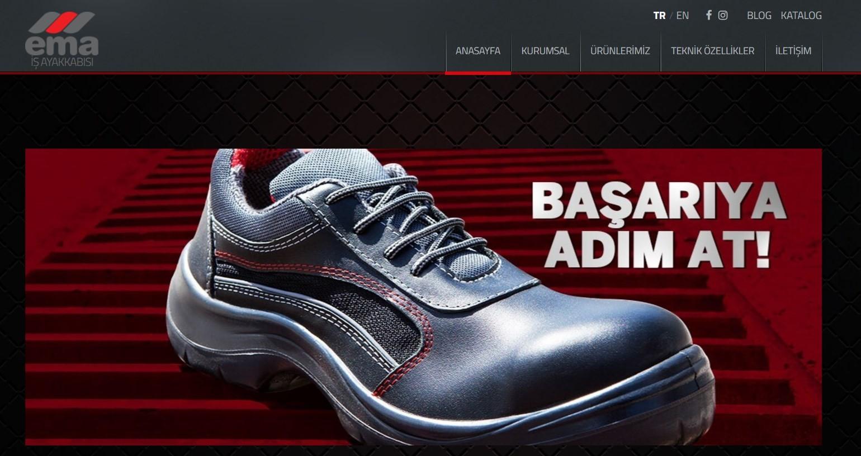 Ema Ayakkabı ile İşçilerin Ayakları Güvende