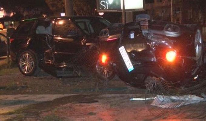 Burak Yılmaz Sarıyer'de Trafik Kazası Geçirdi!