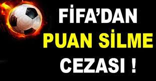 FIFA, Mersin İdmanyurdu'nun 6 puanını sildi