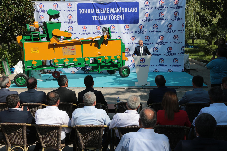 Denizli Büyükşehir Belediyesi'den üreticiye dev destek