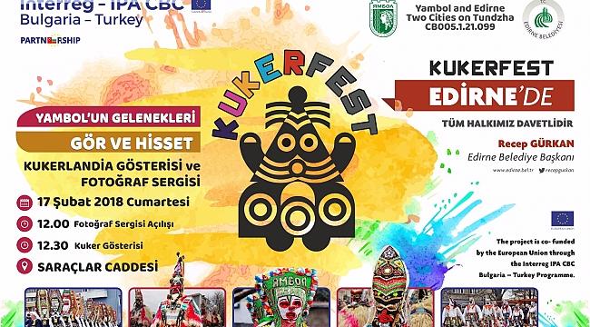 Yambol'un ünlü Kukerlandia Festivali Edirne'de Düzenlenecek