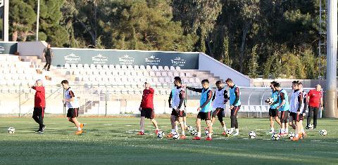 A Milli Takım, Karadağ maçının hazırlıklarına başladı