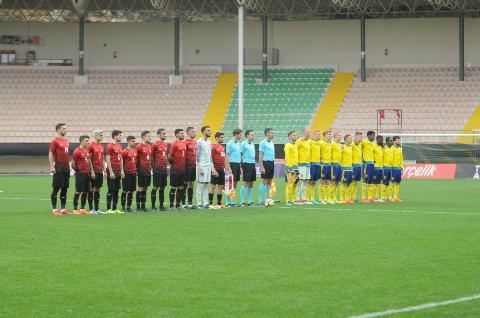 Ümit Milli Takım İsveç'e 3-0 yenildi