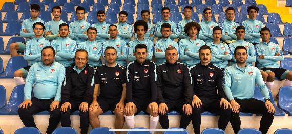 Futsal U19 Millilerin ilk hazırlık kampı sona erdi