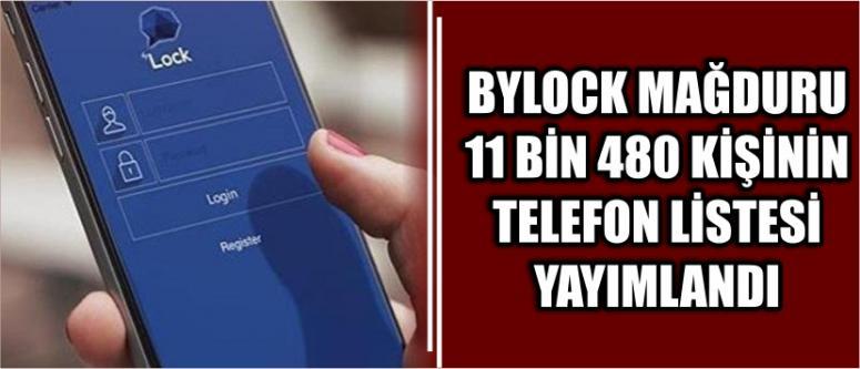 ByLock mağduru olan 11 bin 480 kişi açıklandı