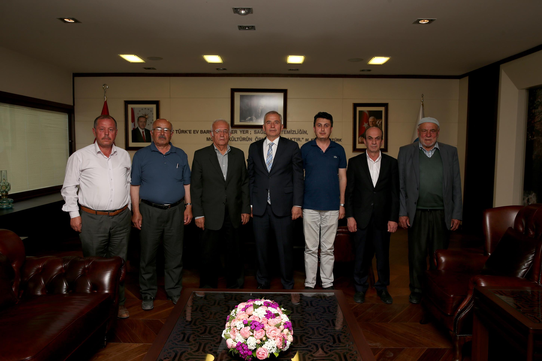 Yatağan ve Yüreğil'den Başkan Osman Zolan'a teşekkür