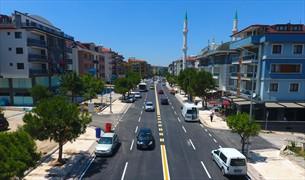 Denizli'de Bursa Caddesi trafiğe açıldı