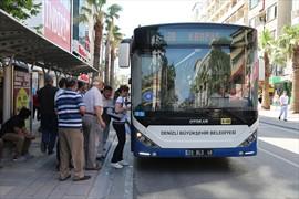 Büyükşehir otobüsleri KPSS' ye gireceklere ücretsiz