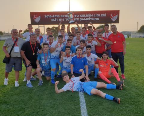 Spor Toto Gelişim Elit U16 Ligi'nde şampiyon Trabzonspor