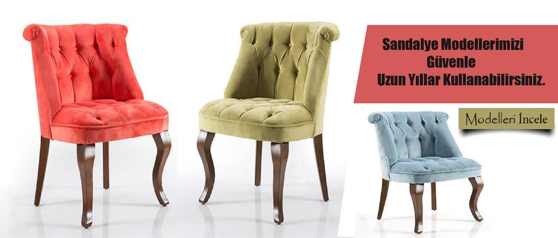 Masa Sandalye Modelleri Üretimi
