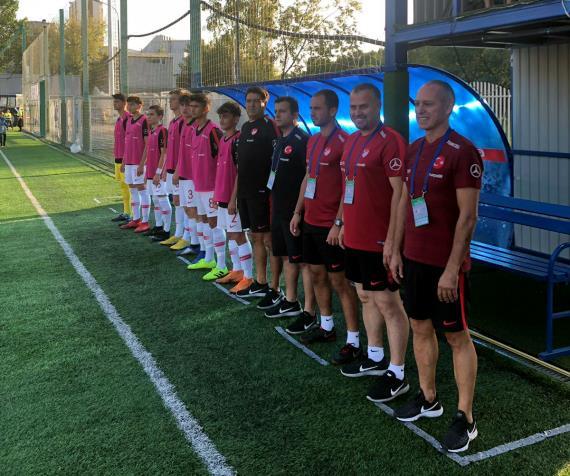 U16 Milli Takımı, Rusya'yı 3-2 yendi