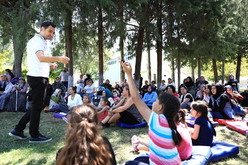 Denizli'de Cankurtaran Yaz Kampı sona erdi