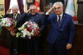 Edirne'de Muhtarlardan Ziyaret