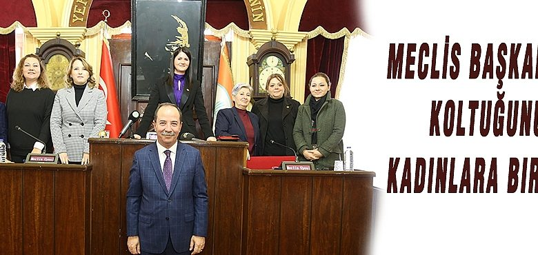 Edirne Belediye Başkanı Gürkan Koltuğunu Kadınlara Bıraktı