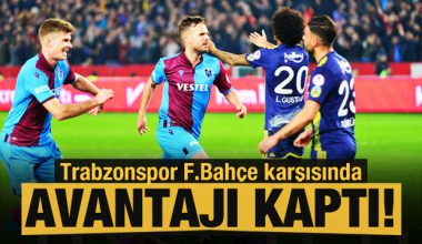 Trabzonspor – Fenerbahçe Ziraat Türkiye Kupası Maçının Özeti