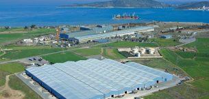 çelik tesislerinin Sidenor'un askıya alır operasyonu