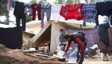 Ritsona mülteci kampı Covid-19 için 20 testi pozitif sonra karantinaya